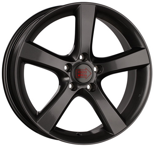 Диск 1000 Miglia MM1001 8,5x19 5x112 et32 d66,6 Dark Anthracite High Gloss