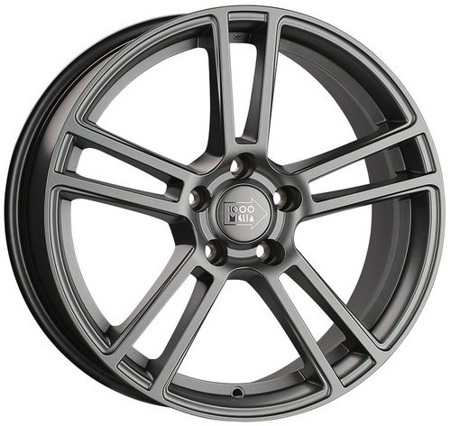 Диск 1000 Miglia MM1002 8,0x18 5x114,3 et40 d67,1 Matt Anthracite