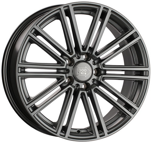 Диск 1000 Miglia MM1005 8,5x19 5x114,3 et42 d67,1 Matt Anthracite